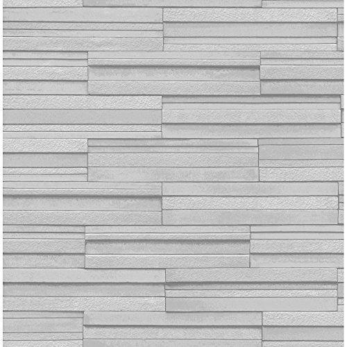 BHF FD40127 Ceramica Slate Tile Kitchen and Bathroom Wallpaper - Grey BHF http://www.amazon.co.uk/dp/B00FWVH8OI/ref=cm_sw_r_pi_dp_fIF6vb1BQ5E4Z