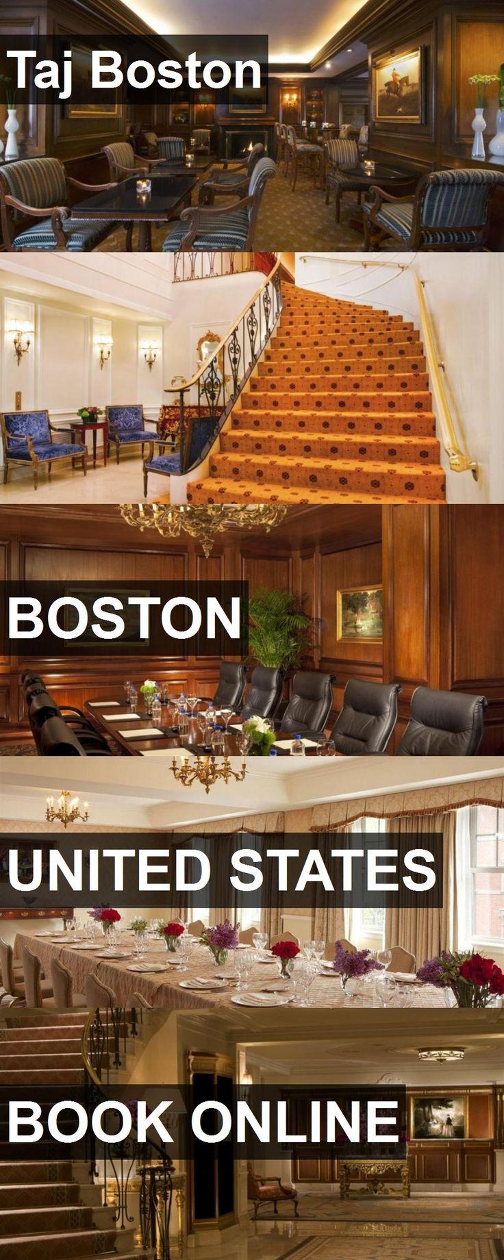 Hotel Taj Boston in Boston, United States. For more information, photos, reviews and best prices please follow the link. #UnitedStates #Boston #TajBoston #hotel #travel #vacation