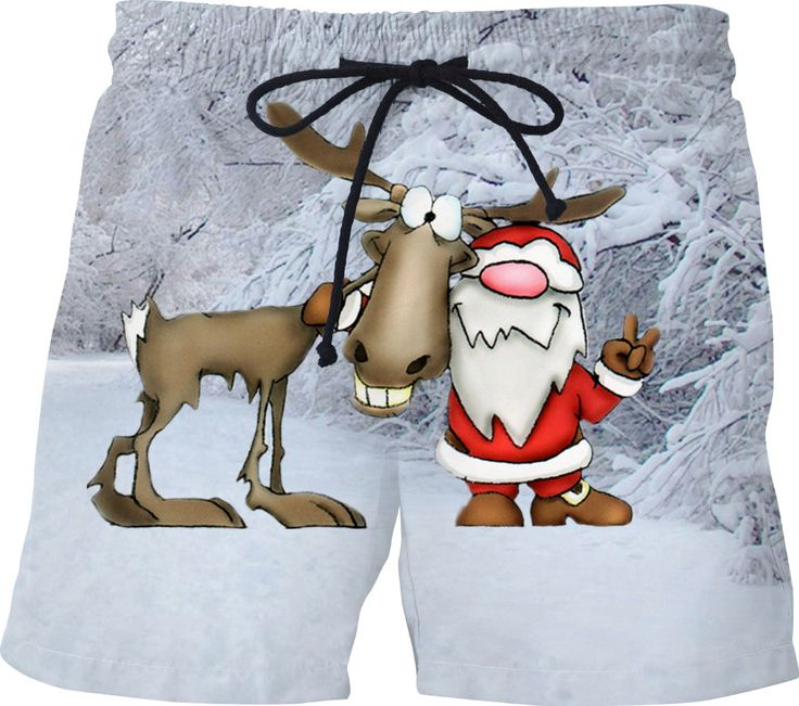 Check out my new product https://www.rageon.com/products/santa-and-reindeer-swim-shorts on RageOn!