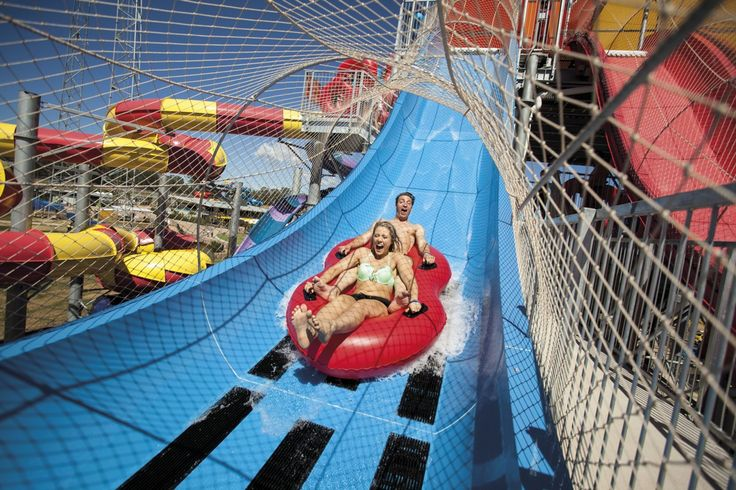 #WhiteWater Provides Two Waterslide Complexes for Wet 'N Wild Sydney. #waterparks #australia