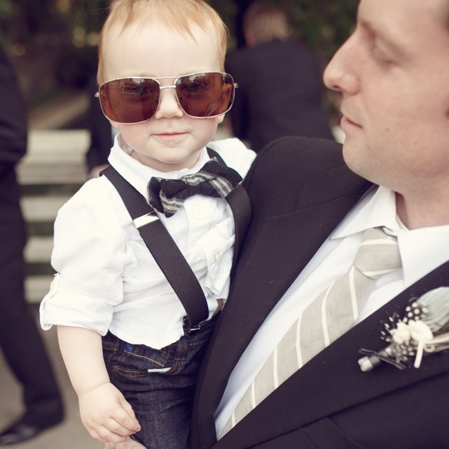 Ring Bearer style // photo by: Anne Marie Photography