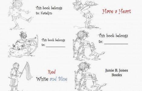 Junie B Jones Coloring Pages Junie B Pinterest