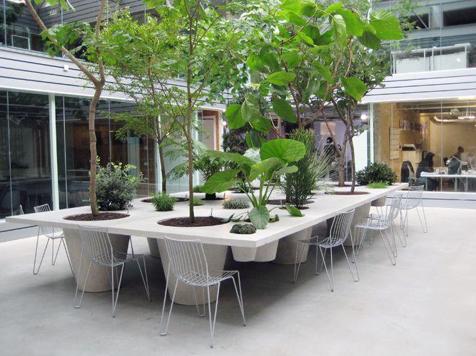 anouk vogel: Anouk Bird, Pots Tables, Landscape Architecture, 102 Anouk, Tables Gardens, Gardens Design, Plants Tables, Vogel Landscape, Amazing Ideas