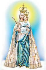 Nossa Senhora da Penha é o título da Virgem Maria que teve início quando ummongefrancês chamado Simão sonhou com uma imagem deNossa Senho...
