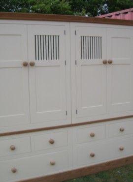 Double Banked Larder Storage Unit
