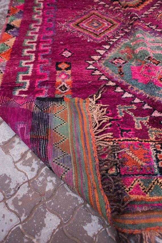 Marokkanischer Teppich Vintage Böhmisch von MoroccanEssentStudio