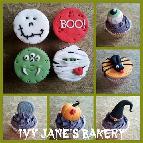 ivy janes bakery cupcakes halloween cupcakes decorationholiday