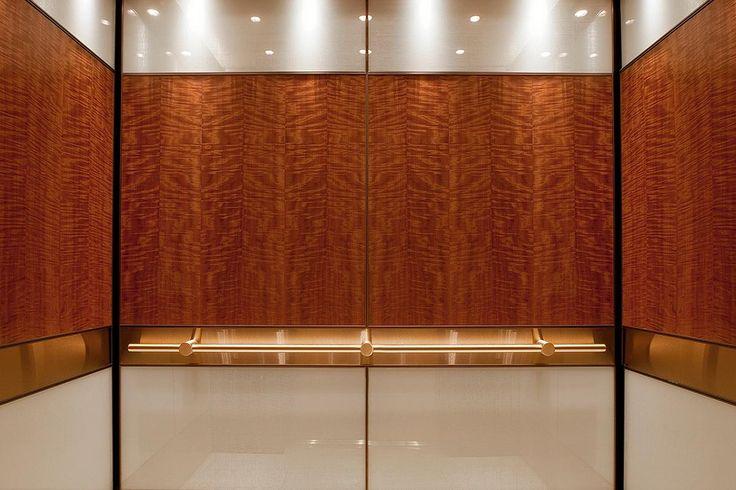 Levele 106 Elevator Interior With Main Panels In Custom