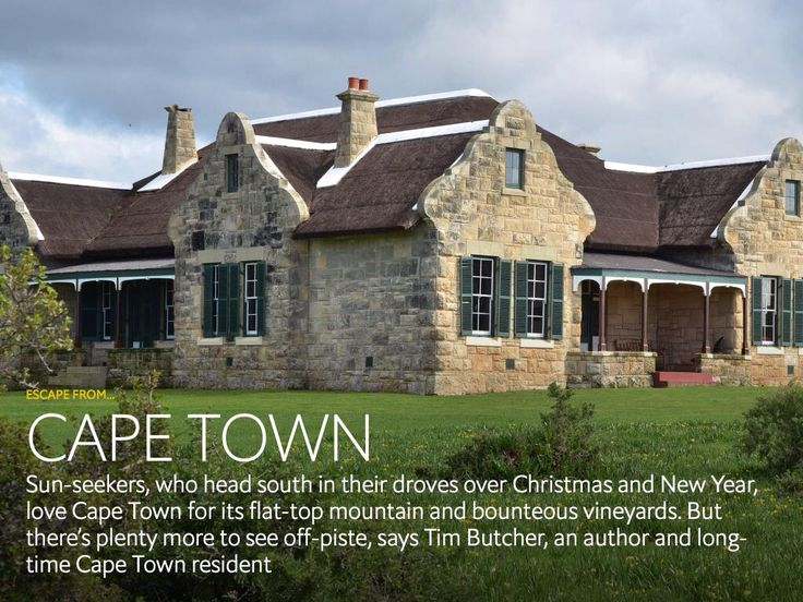 I'm reading Cape Town via the 1843 app