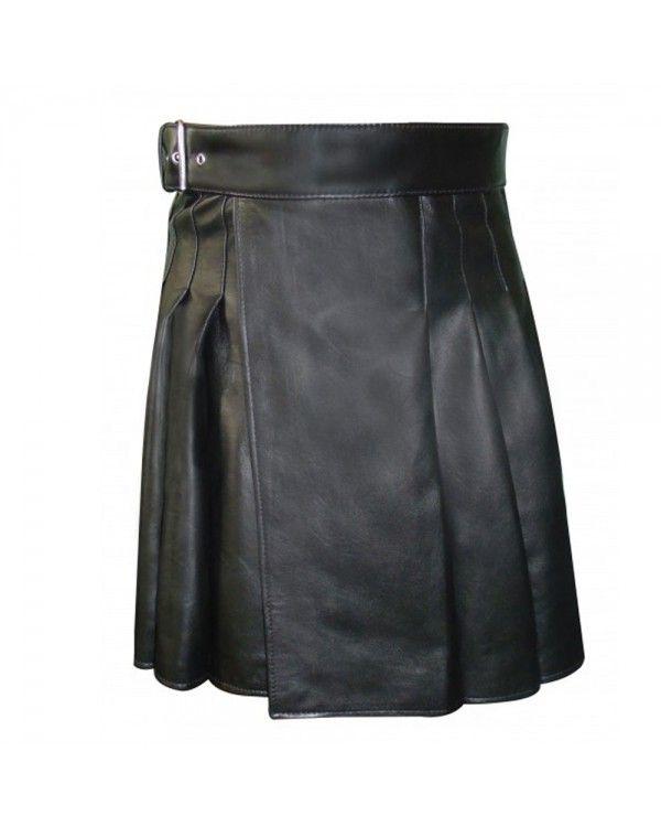 Cowhide Leather Kilt For Men