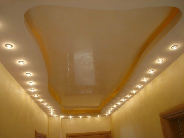 Cool modern false ceiling designs for hall with photos - Lights used in false ceiling ...