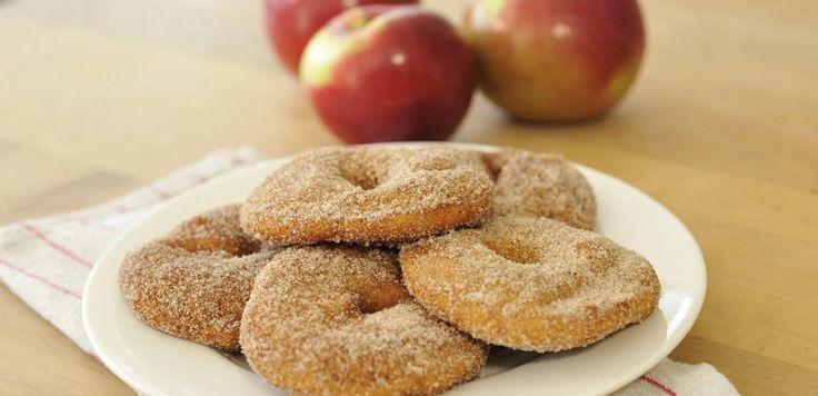 Beignets aux pommes et à la cannelle | Lesoeufs.ca