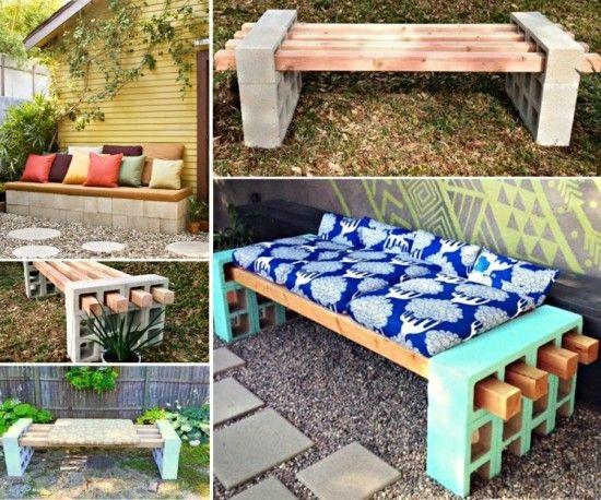Cinder Block Raised Garden Bed Is Easy Diy Gardens Easy