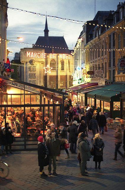 Lille in December - Home of Tradi'Balade - http://www.tradibalade.com/