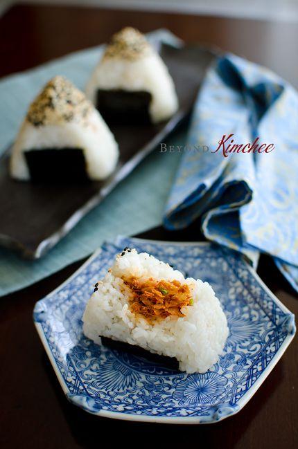 Onigiri Filling Ideas Kimchi Tuna Ric...