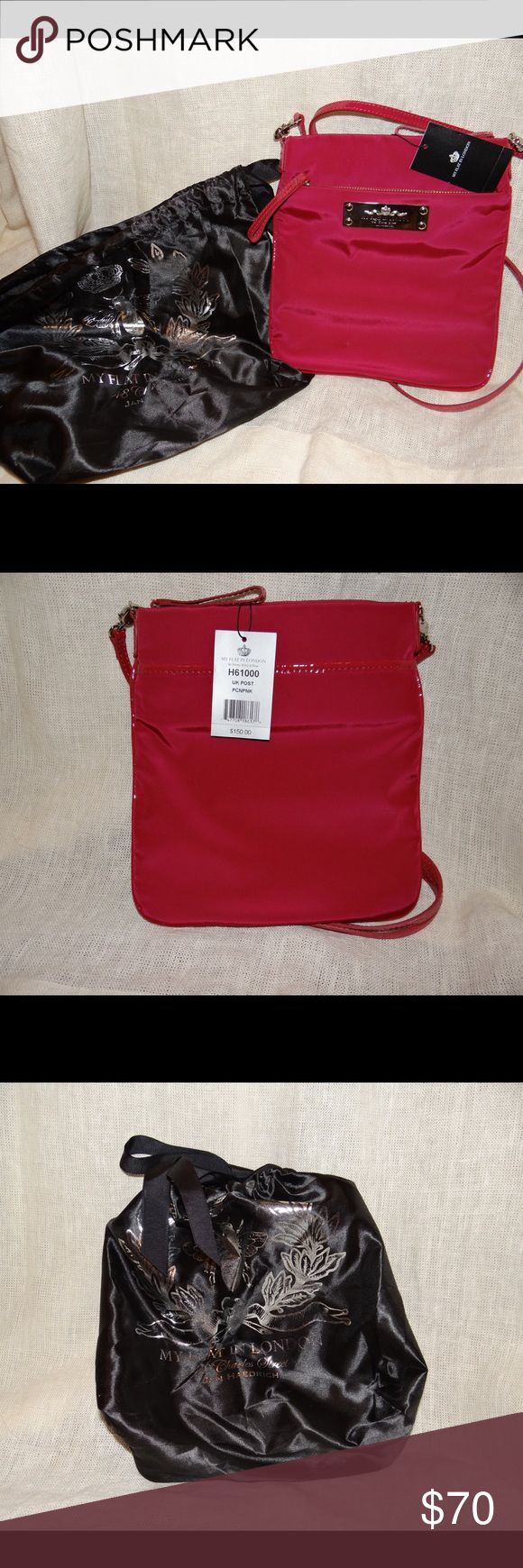 My Flat In London crossbody BRIGHTON New with tags from Brighton store maroon crossbody. Also comes with dust bag 🙂 ‼️ALL OFFERS CONSIDERED‼️ Brighton Bags Crossbody Bags