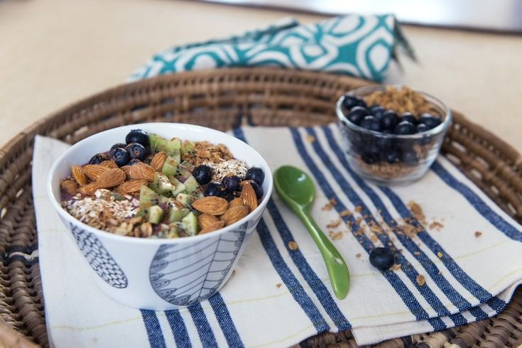 Blueberry Crunch Bowl