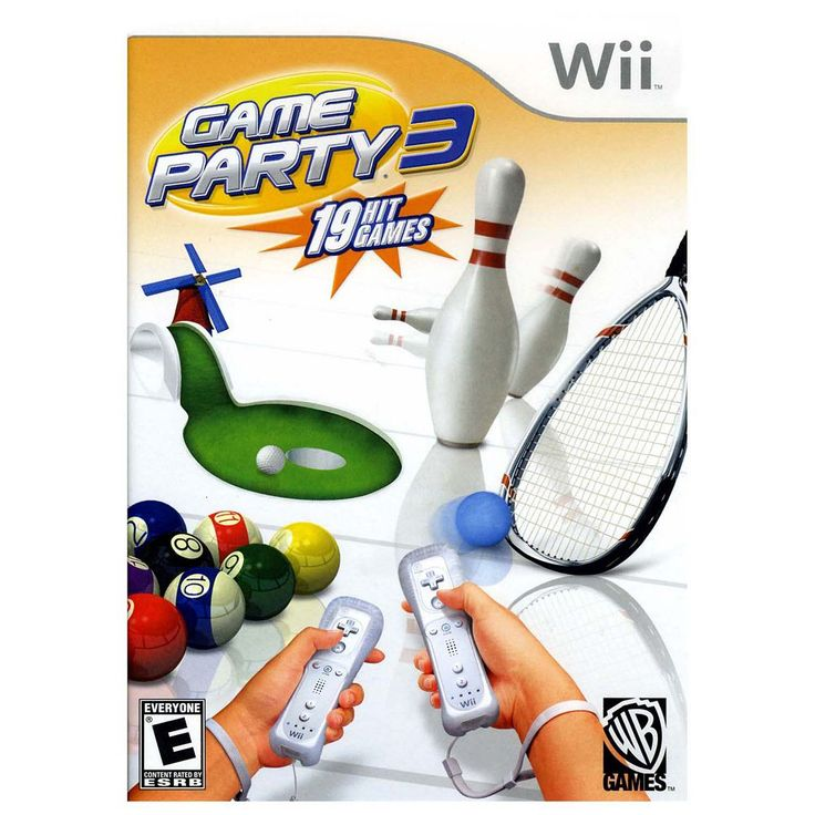 Game Party 3 for Nintendo Wii, Multicolor