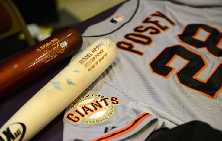 10/29/14. A number of items from the 2014 World Series are headed to the Hall of Fame.  Incuded among these items are bats used in Game 7 by third baseman Pablo Sandoval, who set a postseason record with 26 hits, and in Game 6 by right fielder Hunter Pence, who along with Sandoval tied a Giants record with 12 hits in the World Series. Also, the jersey worn by Buster Posey in Game 7 will be in the package headed to Cooperstown.