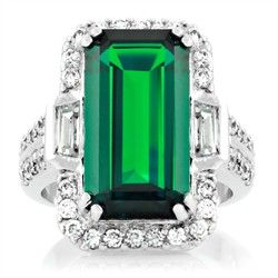 Victoria Beckham Style Jewellery -19 Carat Cocktail Ring