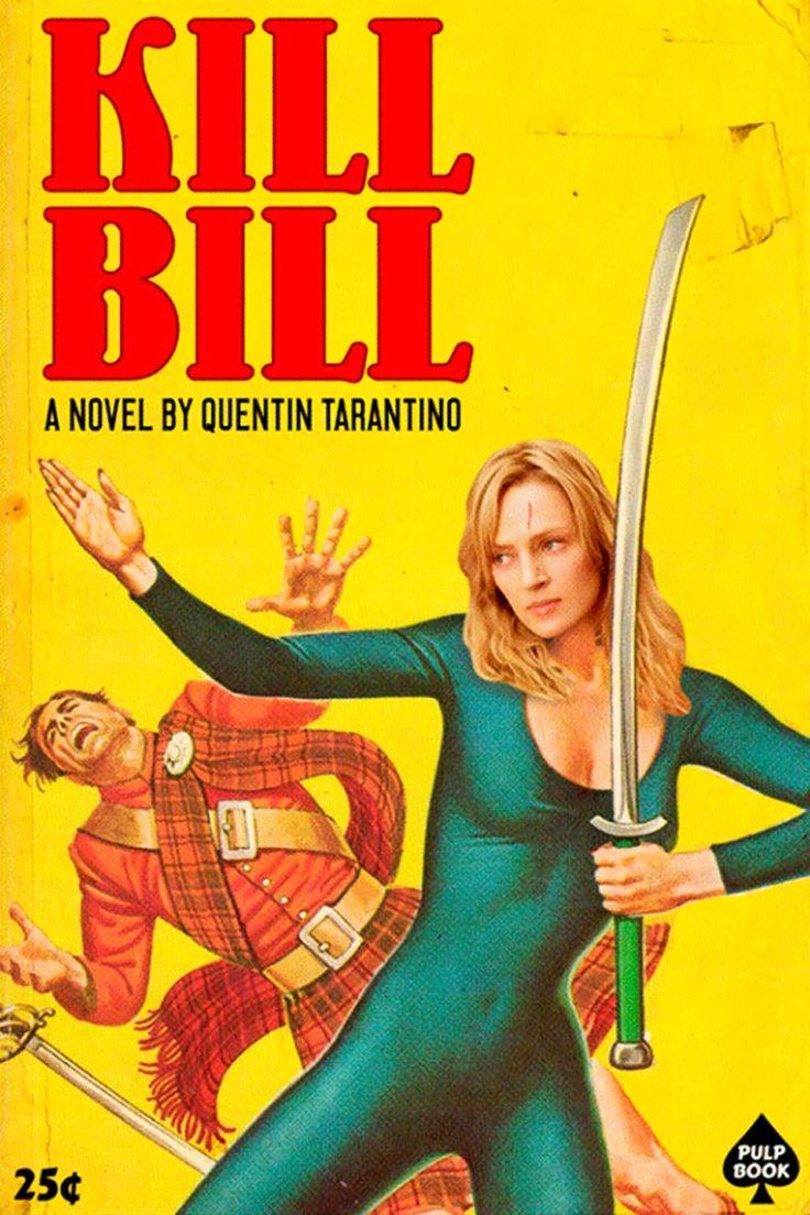 Avec son projet Pulp Books, le graphic designer et illustrateur David Redon, aka Ads Libitum, s'amuse à transformer les films cultes de Quentin Tarantino