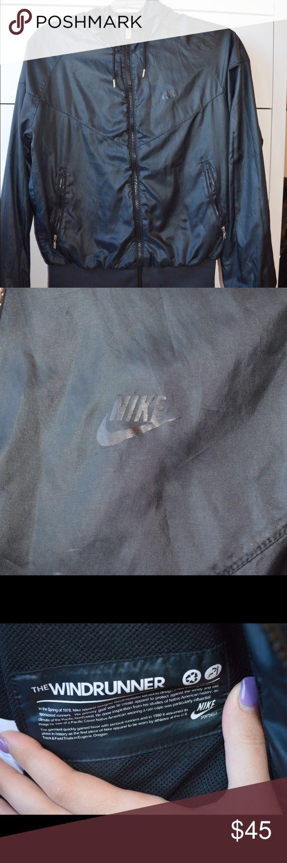 Black Nike Windrunner Jacket Black Nike Windrunner jacket. Size medium. In excellent used condition. Nike Tops Sweatshirts & Hoodies