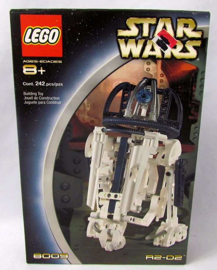 Star Wars Lego Technic 8009 R2-D2 - Complete in Unopened Box - SEALED - NIB NEW #Lego