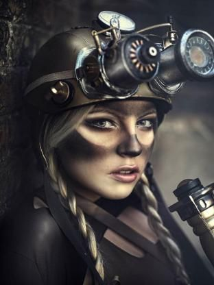 steampunk+makeup | Steampunk Makeup: Coal Miner Look - The Steampunk Empire