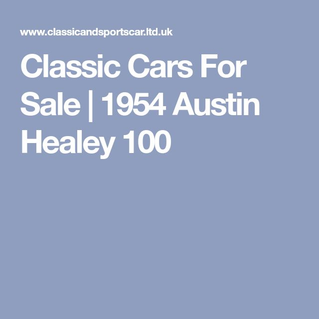 188 best Classic Cars and Motorbikes images on Pinterest | Autos ...