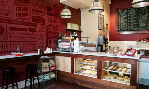 """Crespella is an """"Italian crêpe and espresso bar located in Park Slope"""" that was branded by new-to-me Brooklyn studio Tag Collective."""