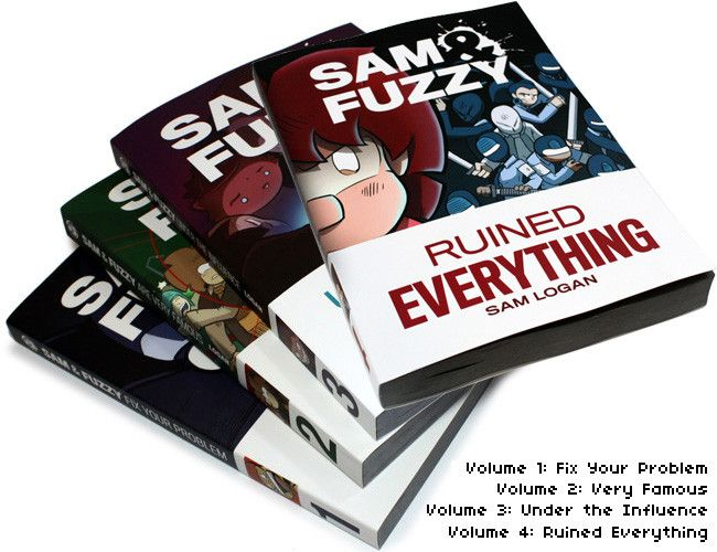 Sam and Fuzzy Book Combo Value Meals!