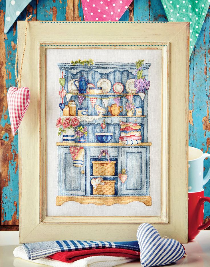VINTAGE DRESSER - Available in Cross Stitch Collection 244