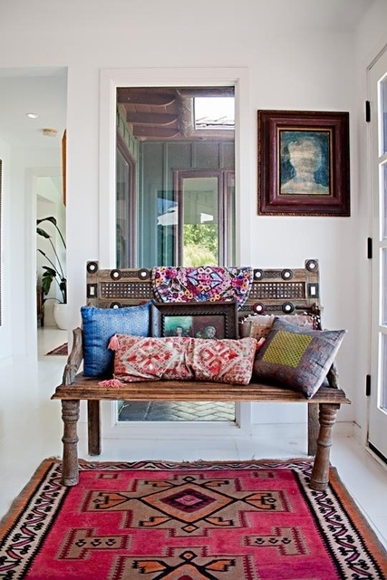 Bohemian Decorating Style | Bohemian Decor Life Style / indian furniture