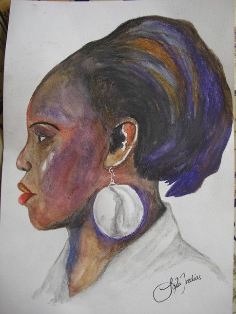 'African beauty - sister Irene' by Laila Iredias