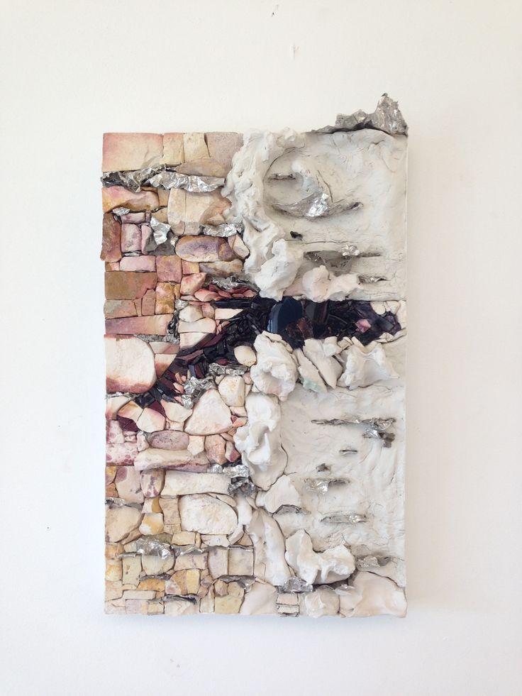 Betulla - inspire by Harry Bertoia  Mosaic by IlariaDelSignore   Marbles&Smalti with rusty iron 25*40cm  a.s 2014/2015 Scuolamosaicistidelfriuli, PN, Italy