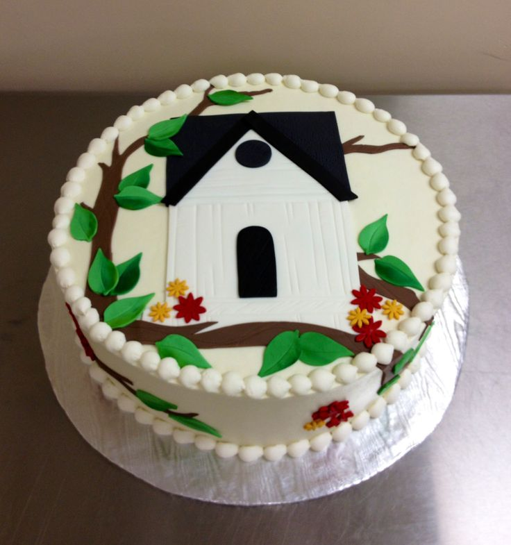 Cake Decoration For House Blessing : 17 Best images about cakes on Pinterest Cute cakes ...