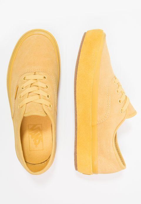 f976830a74 Vans AUTHENTIC PLATFORM 2.0 - Baskets basses - dark yellow - ZALANDO ...