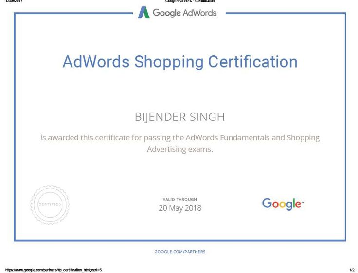 #digitalmarketing #ppc #sem #certified #certification #adwords #shopping #digital #bijenderdigital