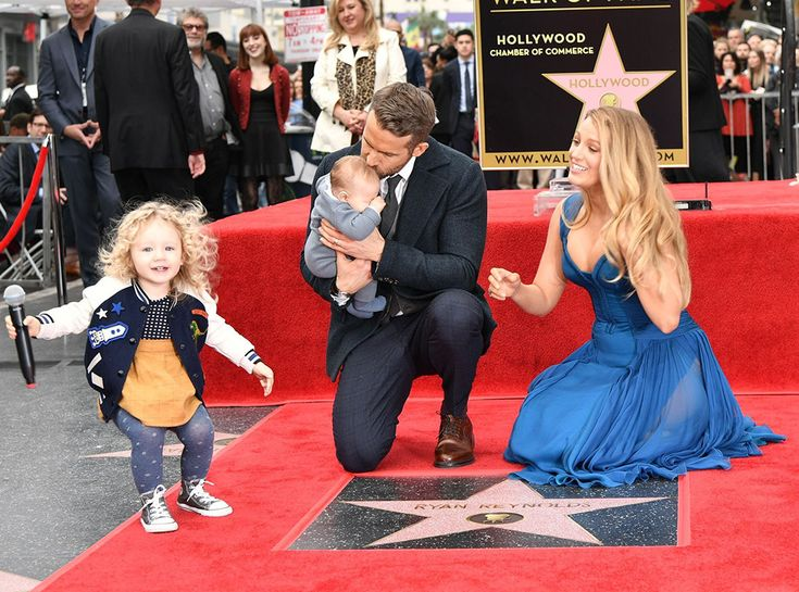 For the first time, Ryan Reynolds, Blake Lively and their two children appeared in public together as a family in honor of the actor's newly minted star on the Hollywood Walk of Fame.