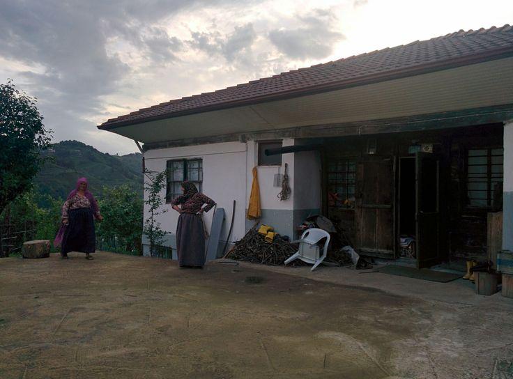 Köyde Şahinaz ninenin evi