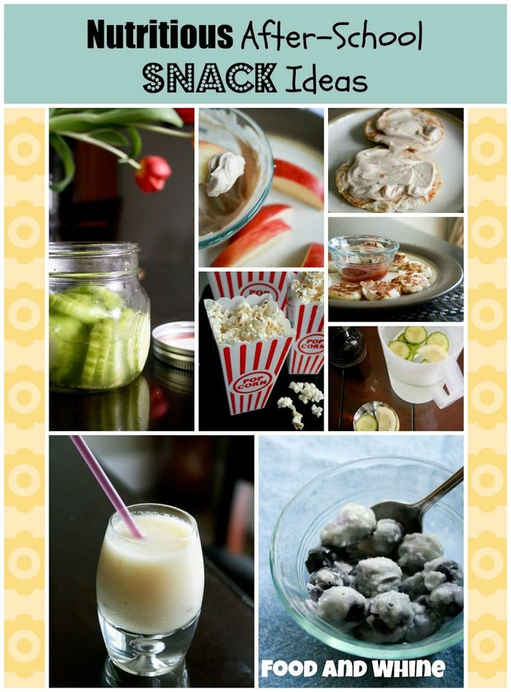 Easy and Nutritious After-School Snacks - Food & Whine