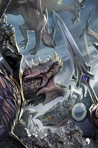 Dragons:  Dragons.