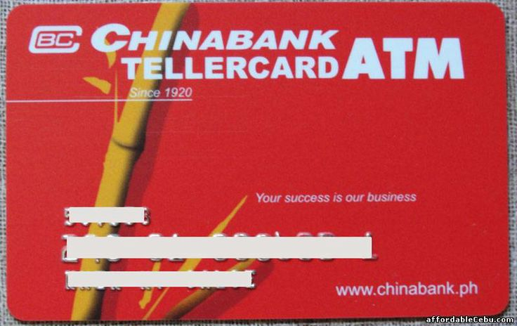 How to Apply for Chinabank Passbook and ATM Card Savings Account? - Banking