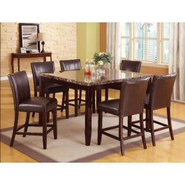 Ferrara Counter Height Table And Four Chairs Group