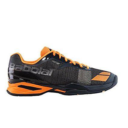 Babolat Men?S jet all Court scarpe da tennis, Grey/Orange, 9 UK