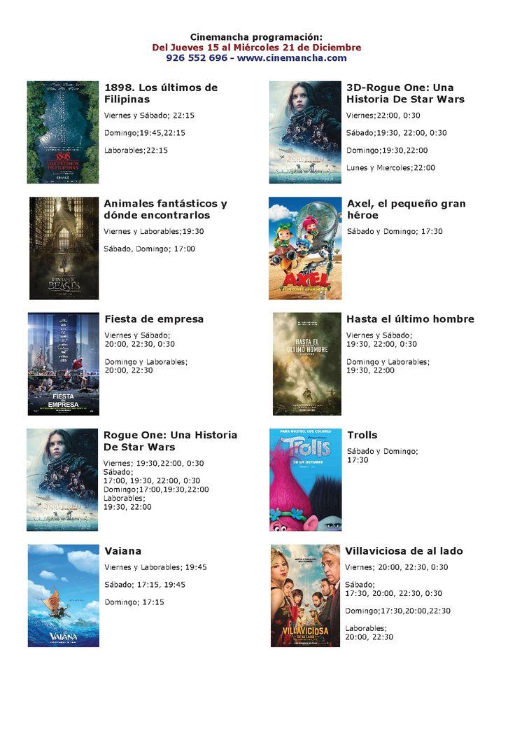 Cartelera Cinemancha del jueves 15 al miércoles 21 de diciembre - https://herencia.net/2016-12-15-cartelera-cinemancha-del-jueves-15-al-miercoles-21-diciembre/?utm_source=PN&utm_medium=herencianet+pinterest&utm_campaign=SNAP%2BCartelera+Cinemancha+del+jueves+15+al+mi%C3%A9rcoles+21+de+diciembre