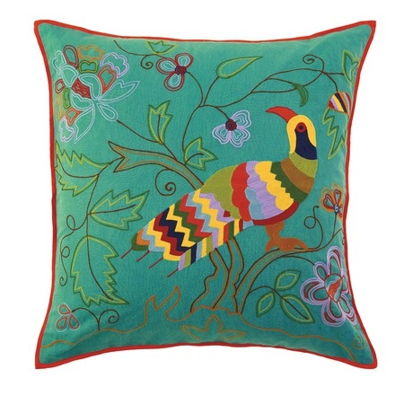 Colorful Bird Throw Pillows : 305 best images about Pillows With Pizzaz on Pinterest Cushions, Pillow talk and Dreams
