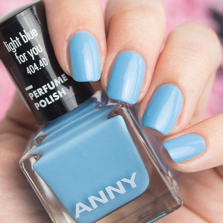 ANNY light blue for you Perfume Polish Collection 2017 Swatch