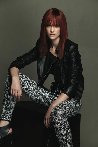 """EVOS_ROCKinFASHION_FW15-16_Lungo_Hot Ginger #evosrockinfashion by EVOS PARRUCCHIERI su ELLE.it  11 immagini della nostra collezione nella gallery: """" CAPELLI:  I #COLORI #MODA PER L'AUTUNNO 2015-2016 """"  http://www.elle.it/Bellezza-Beauty/moda-colore-capelli-autunno-2015-2016#1"""