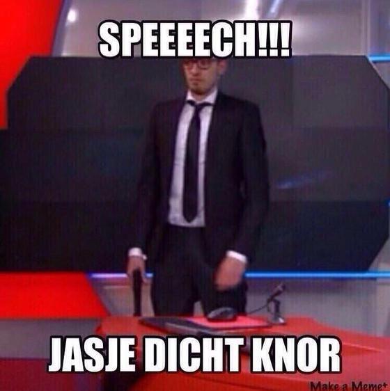 Speech...